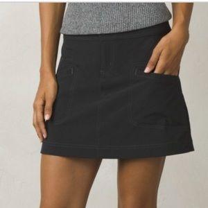 {Prana} Gray Lena Skort Size 6